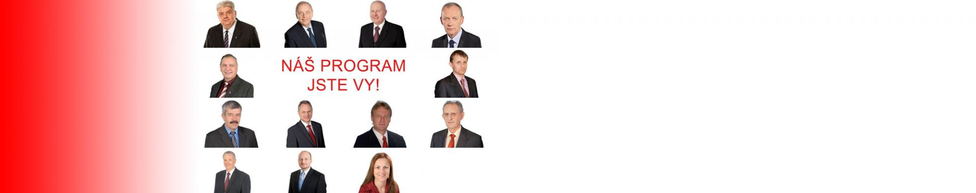 Lídři KSČM pro krajské volby 2016