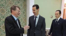 Jaromír Kohlíček a Bašár Assad